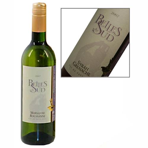 Belles du Sud franse witte wijn