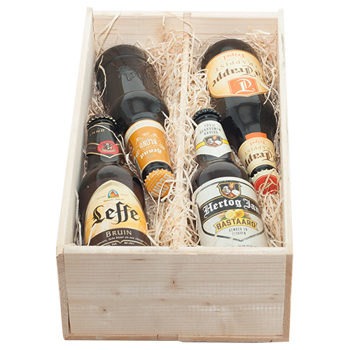 Bierkist, Bier cadeau, TRAPPISTENBIER, La Trappe Trappistenbier, Bierpakket, KERST GESCHENKEN, Bierpakket, Bier cadeau