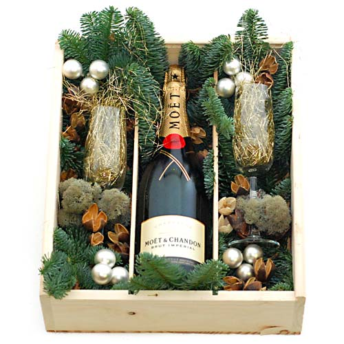 Moët & Chandon champagne kerstgeschenk